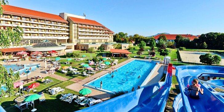 Relaxace u Balatonu s neomezeným wellness a polopenzí + 2 děti zdarma