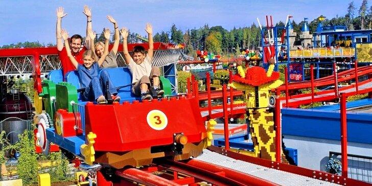 Prázdninový výlet do Legolandu - užijte si atrakce v prodloužené otevírací době