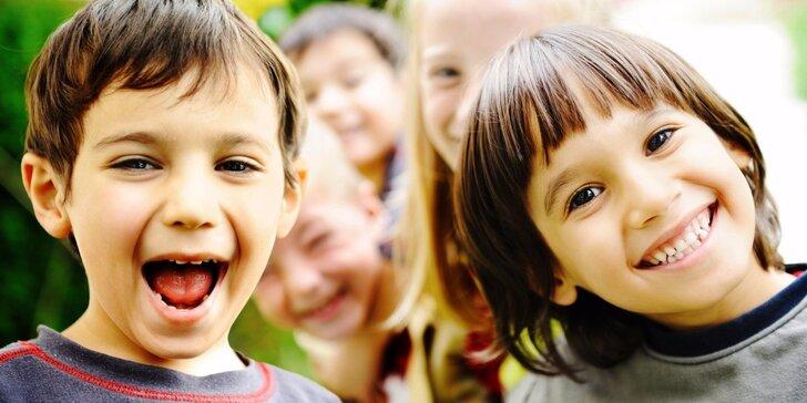 Tématický příměstský tábor pro školkové děti od 3 do 6 let