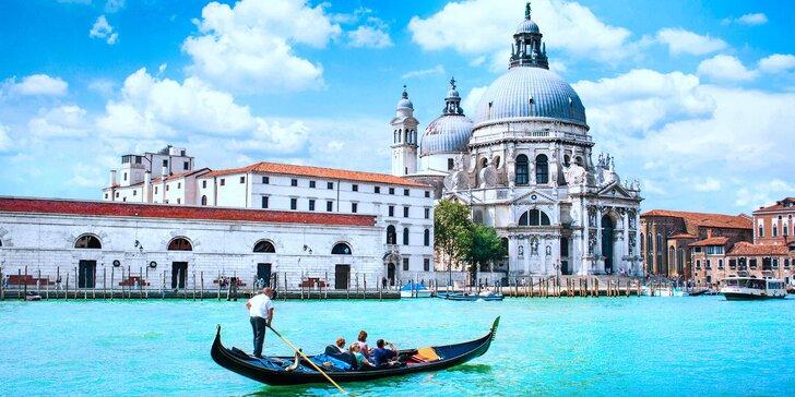 Italské skvosty: Řím, Florencie, Verona, Benátky včetně dopravy a snídaně