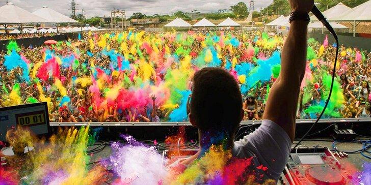 HOLI Open Air Festival: Zažijte šílenství barev v centru Prahy na 11hodinové párty