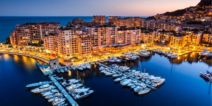 Luxusní casina, přístav a okruh F1: víkendový výlet do Monaka vč. dopravy