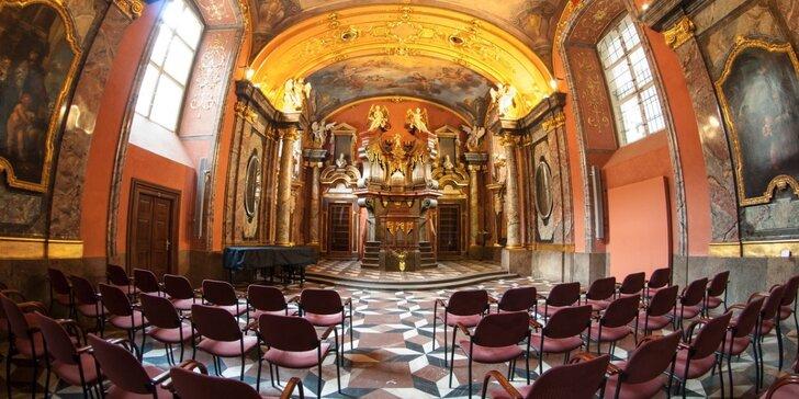 Tóny nejznámějších skladeb v Zrcadlové kapli Klementina