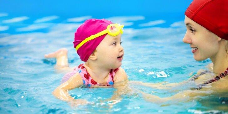 Intenzivní letní kurz plavání pro kojence i děti do 6 let