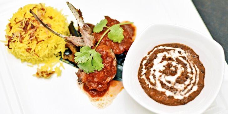 Indie, jak ji neznáte: Degustační vegetariánské nebo masové menu pro dva