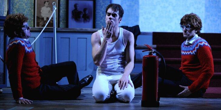 Vstupenka na divadelní představení Hamlet ve Švandově divadle
