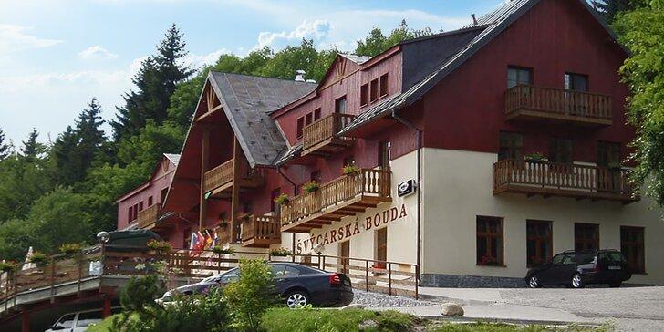 Letní prázdniny i podzim ve Špindlu: polopenze, sauna a venkovní bazén