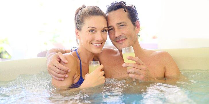 2,5 hodinová wellness péče o tělo - sauna, vířivka a masáž