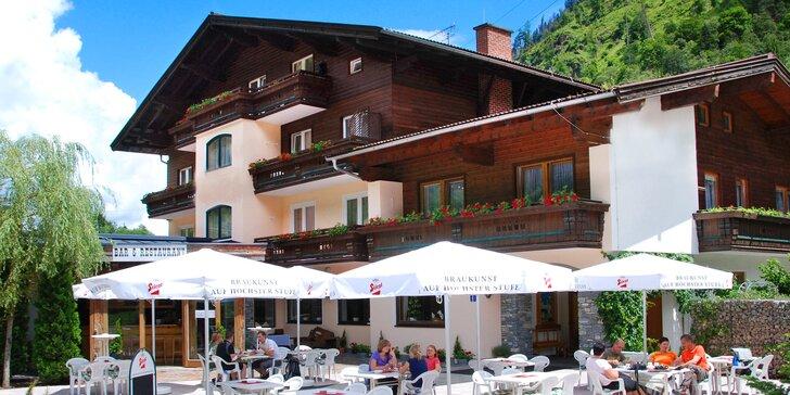 Léto v Rakouských Alpách - all inclusive light, sauny a pobyt pro 2 děti zdarma