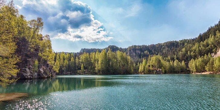 3-6denní dovolená v malebné krajině Adršpachu pro dva s polopenzí