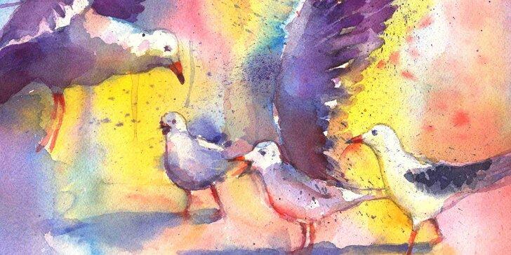 Víkendový výtvarný kurz: Tajemství akvarelové malby