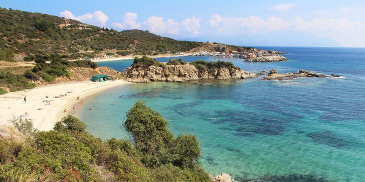 Prima dovolená v Řecku na Chalkidiki v červnu na 9 nocí: výběr ze 2 typů ubytování