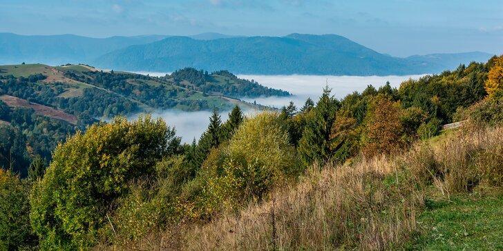 Proti směru času: zájezd za památkami a přírodou Zakarpatské Ukrajiny s polopenzí
