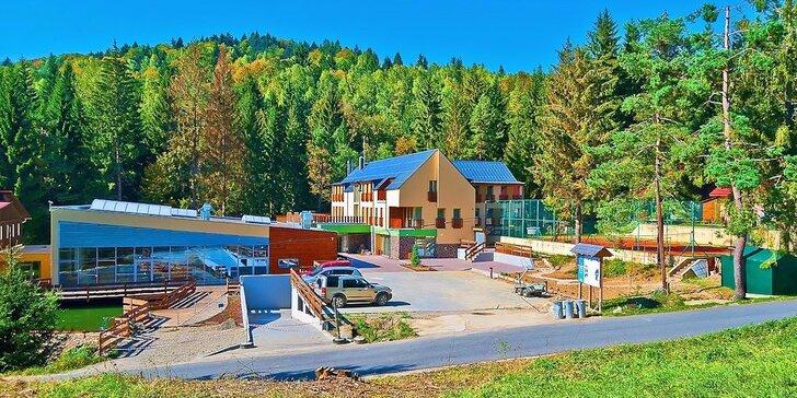 Za výlety a wellness do Javorníků: polopenze, bazén, sauna i sportovní aktivity