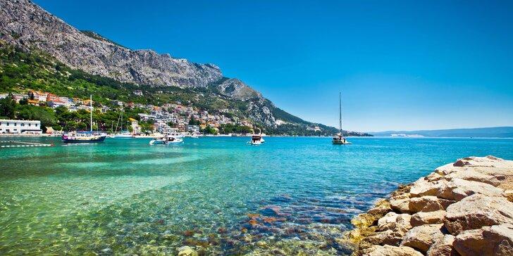 Týden slunění a koupání v Chorvatsku s ubytováním jen 20 metrů od pláže