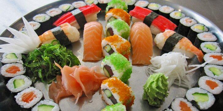 Chyťte si svou rolku: japonské sushi sety s 24 nebo 46 kousky