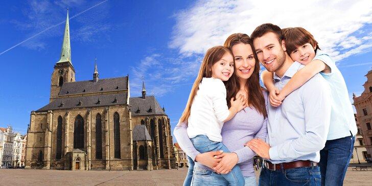 Prázdniny s rodinou v centru Plzně: skvělé jídlo a vstup do dětského světa i zoo