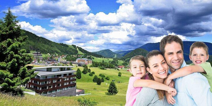 Pohádkové léto v Tatrách - 5 dní v přírodě poblíž rodinných zábavních parků