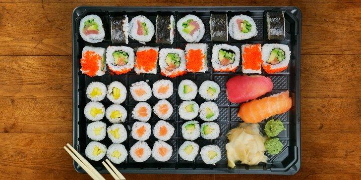 Asie do vašeho obýváku: rozvoz kvalitního sushi z moderního bistra Guty
