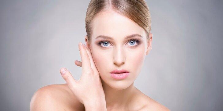 30minutové kosmetické ošetření včetně diamantové dermabraze