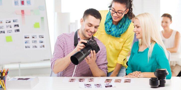 Intenzivní fotografický kurz u profesionála: 3 nebo 5 hodin teoretické průpravy