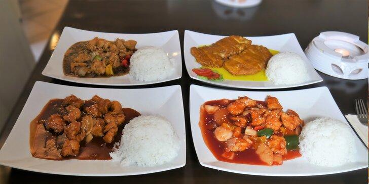 Kuřecí speciality podle hongkongských receptů v Lotos Restaurantu