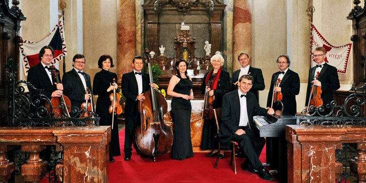Vstupenka na libovolný koncert vážné hudby v kostele sv. Mikuláše