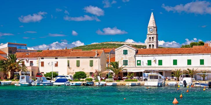 Chorvatsko, Turanj: 7 nocí ve studiu či apartmánu vzdáleném 120 m od pláže