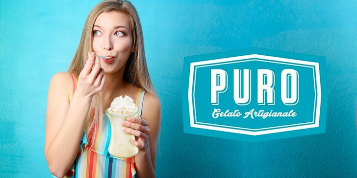Milkshake z oblíbené gelaterie: fantastické gelato, bio mléko a šlehačka