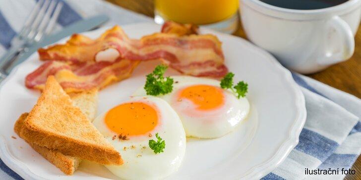 Naberte sílu kdykoliv během dne slaným či sladkým snídaňovým menu dle výběru