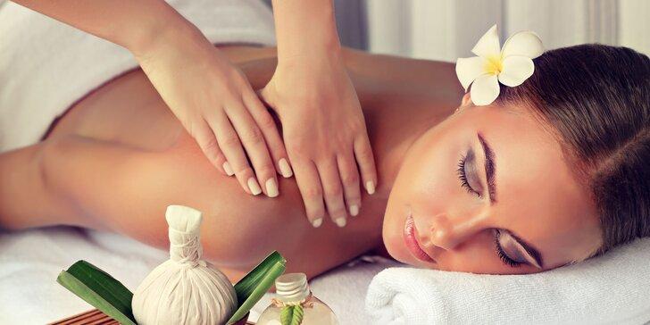 60minutová relaxační mojito masáž včetně sklenice limonády