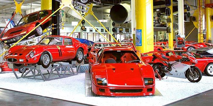 Automobilové a technické muzeum Sinsheim v Německu s odjezdem z Prahy