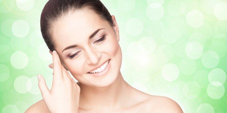 Kompletní kosmetické ošetření vč. masáže obličeje, krku a dekoltu