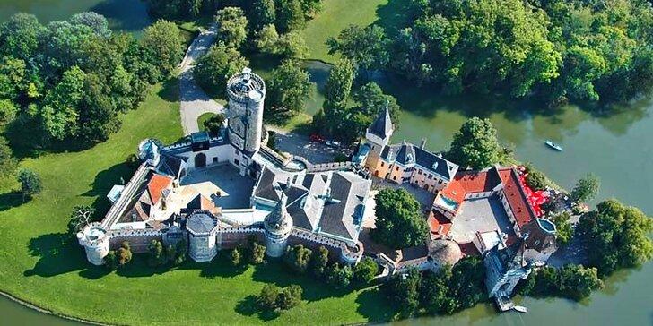 Zámek Laxenburg, největší podzemní jezero v Evropě a čokoládovna Hauswirth