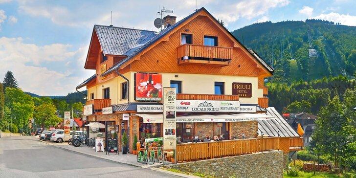 All inclusive rodinný pobyt v Harrachově: luxusní pokoj se saunou a řada zážitků