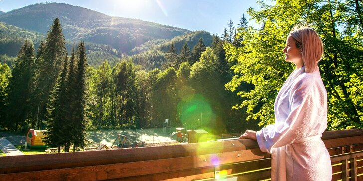 Relaxační a rekondiční letní pobyt v Horském hotelu Čeladenka**** v Beskydech