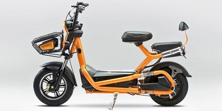 Rezervační poplatek na elektromoped Bajk: rychlé a úsporné vozítko pro dvě osoby