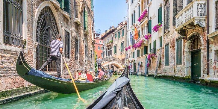 Víkendový výlet do Benátek s návštěvou ostrovů Burano a Murano