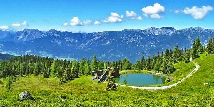 1denní poznávací výlet do kaňonu Medvědí soutěska v Rakousku