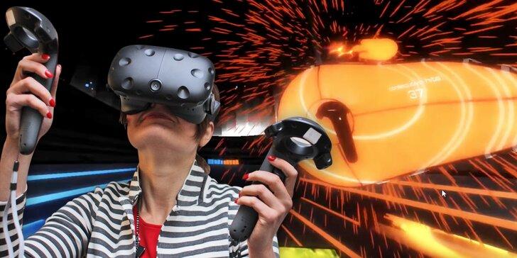 Kouzelný svět virtuální reality: Výlet do vesmíru, kosení zombíků a další zábavné hry