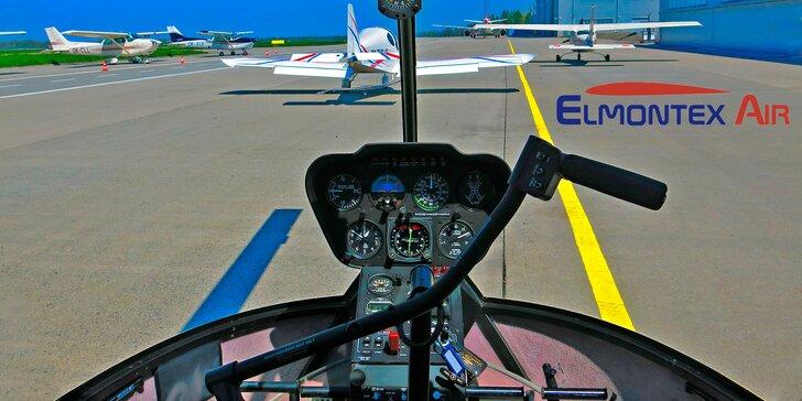 Lety vrtulníkem: Pořádná dávka adrenalinu pro dobrodruhy a milovníky výhledů
