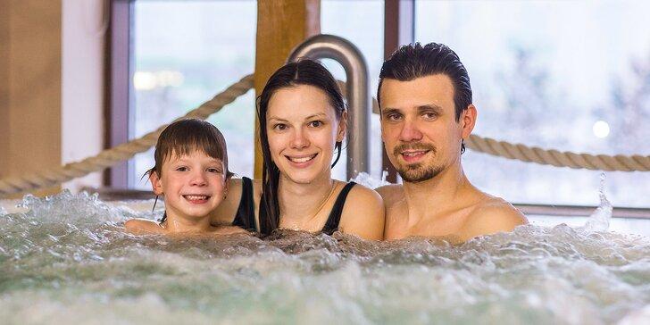 Luxusní 4* pobyty pro dva a dítě do 15 let s neomezeným wellness i plnou penzí