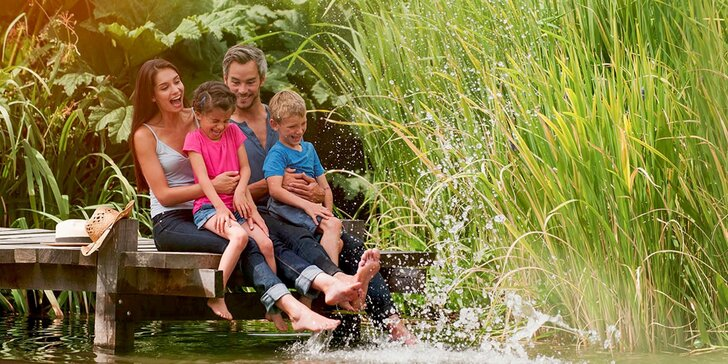 Parádní dovča pro dva či celou rodinu v Orlických horách s letním grilováním