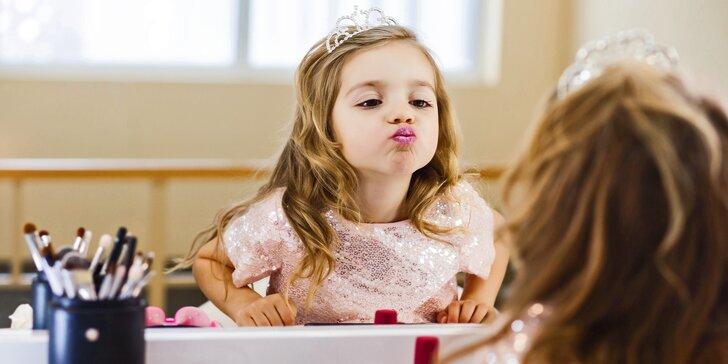 Krásná jako maminka: kosmetická péče a masáž pro holčičky ve věku 8–13 let