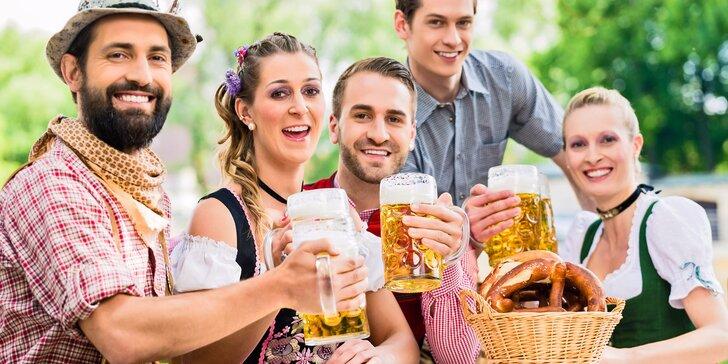 Oktoberfest: tupláky, bavorské kroje - zájezd na největší slavnosti piva v Mnichově