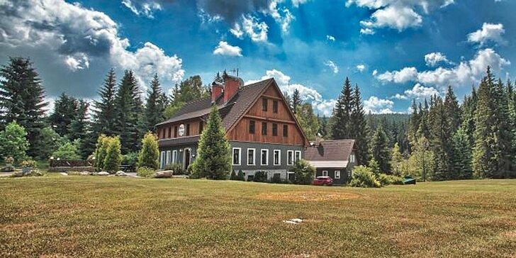Dovolená v Jizerských horách: Polopenze, sauna nebo i all inclusive nápoje