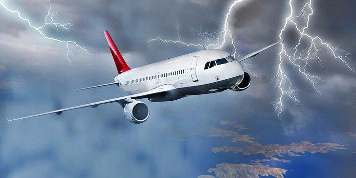 Letecká únikovka, při které se tají dech: Vzrušení, adrenalin a stroj bez pilota