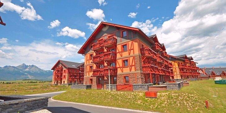 Léto v Tatrách: 2-7 dní v luxusních apartmánech a slevy na wellness i aquaparky