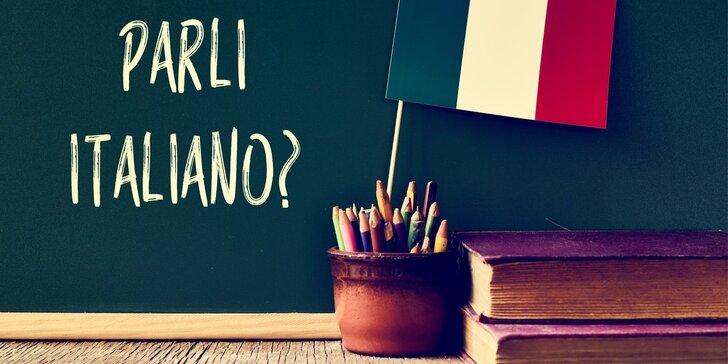 Intenzivní týdenní kurz italského jazyka pro začátečníky