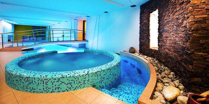 Špičkový hotel pod Tatrami: Wellness, vstup do aquaparku a luxusní jídlo pro dva